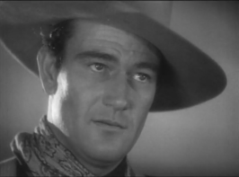 Duke Wayne in Stagecoach