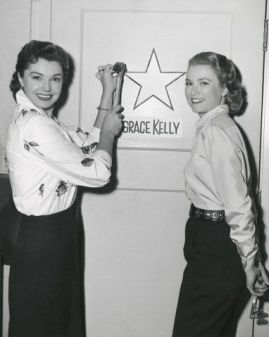 Ester Williams and Grace Kelly