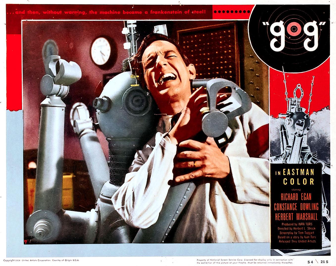 Herbert L. Strock's GOG (1954) Coming to Blu-ray in Stunning 3-D Restoration