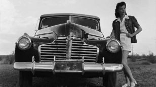 Ida Lupino and Buick