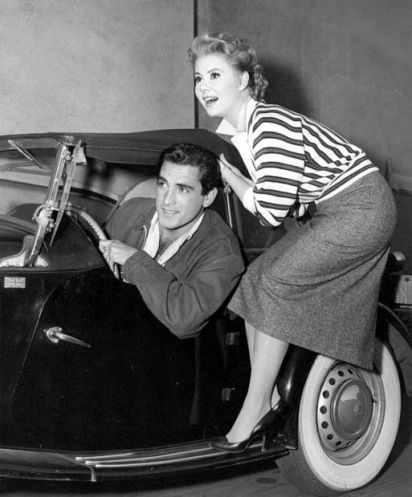 Jacques Bergerac and Mitzi Gaynor