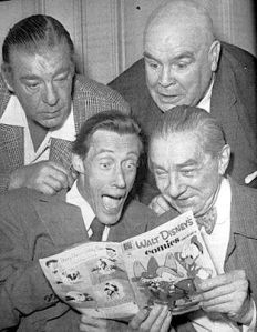 Lon Chaney, Jr., Tor Johnson, John Carradine and Bela Lugosi