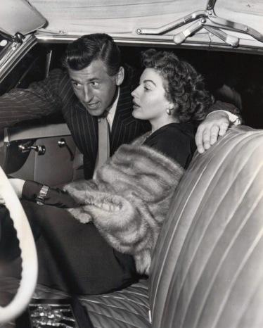 Stewart Granger and Ava Gardner