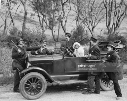 The Keystone Cops and Marion Davies