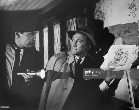 Barry Sullivan and Kirk Douglas in The Bad and the Beautiful