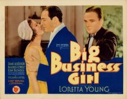 Big Business Girl 1931
