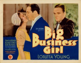 Big Business Girl 1931