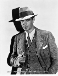 Gary Cooper in City Streets 1931