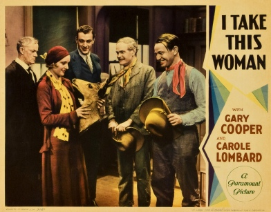 I Take this Woman 1931