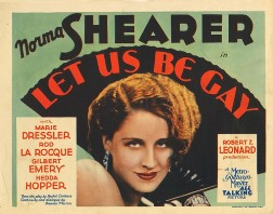 Let Us Be Gay 1930