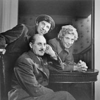Chico, Harpo and Groucho - last TV appearance together