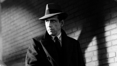 Bogart in The Maltese Falcon