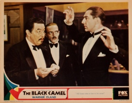 The Black Camel 1931