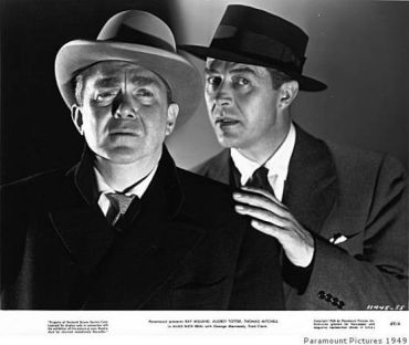 Thomas Mitchell and Ray Milland