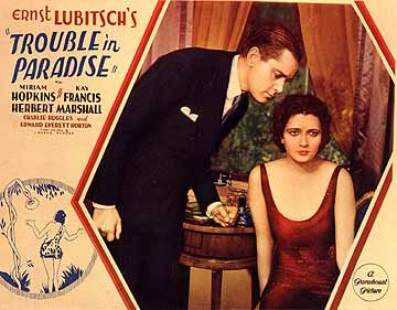Trouble in Paradise 1932
