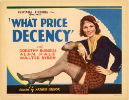 What Price Decency 1933