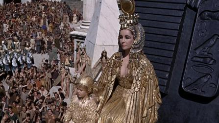 Cleopatra arrives in Rome