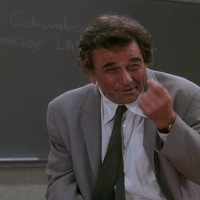 "Peter Falk stars in ""Columbo Goes to College"""