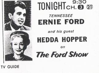 Ernie and Hedda