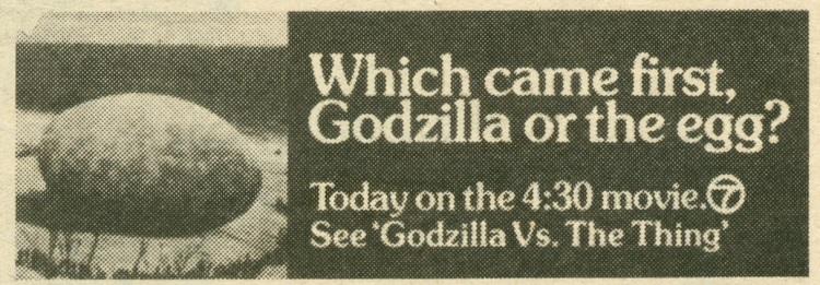 Godzilla Egg