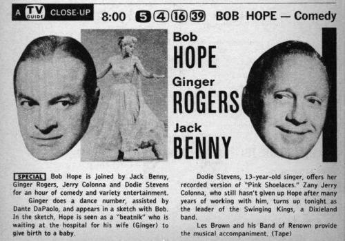 Hope Rogers Benny