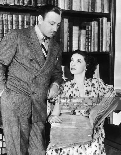 John Barrymore and Elaine Barrie
