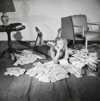 Marilyn and fan mail