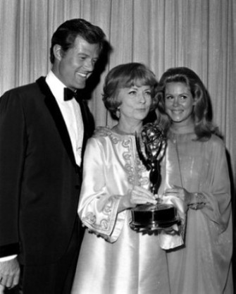 With Agnes Moorehead and Robert Culp