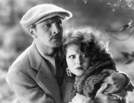 With Clara Bow in The Wild Party
