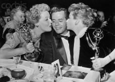 At the EMMYS in 1954
