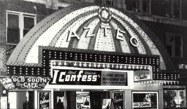 AZTEC THEATRE - San Antonio, TX - showing 'I Confess'