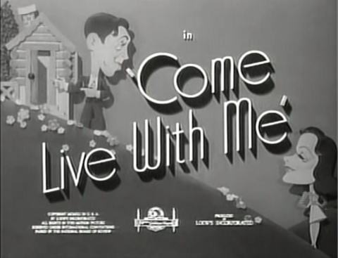 Come Live with Me