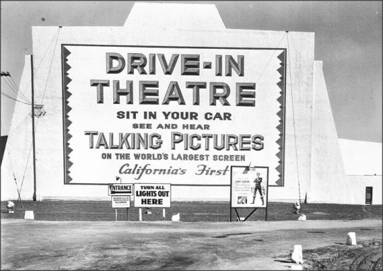 Drive-in c. 1934