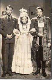 Gary Cooper, Anna Sten and Ralph Bellamy in The Wedding Night (1935)