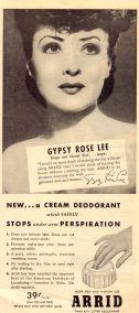 Gypsy deodorant