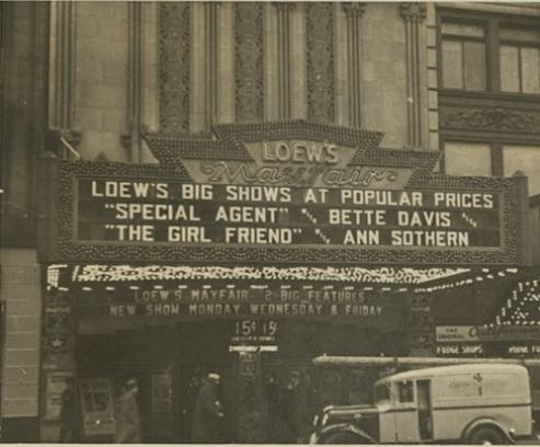 Loew's Mayfair, NY