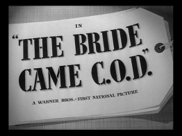 The Bride Came COD