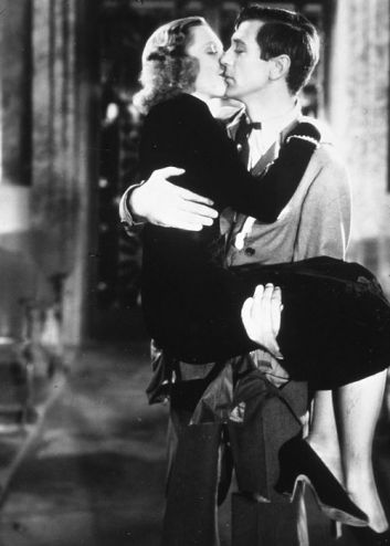 With Jean Arthur in Mr. Deeds Goes to Town (1936)