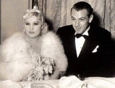 With Mae West
