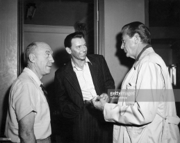 With Preminger and Sinatra
