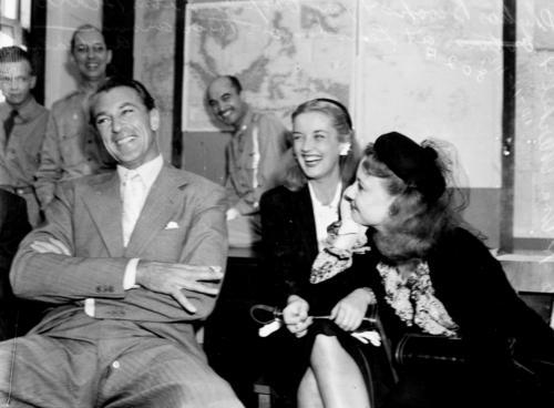 With Una Merkel and Phyllis Brooks