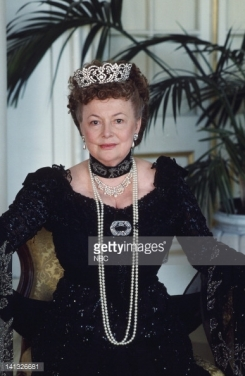As Dowager Empress Maria in Anastasia- The Mystery of Anna 1986