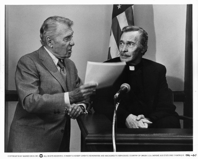 Ralph Bellamy and Barry Sullivan in OH, GOD!