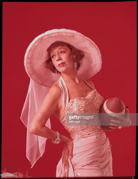 Publicity shot of Imogene Coca for the TV series Grindl, 1963-64.