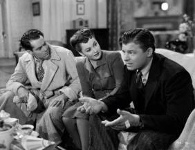 Henry Fonda, Olivia de Havilland, and Jack Carson in The Male Animal 1942