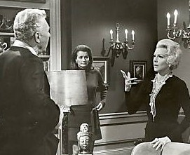 "With Diana Muldaur and Lana Turner in ""The Survivors"""