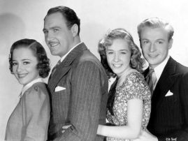 Olivia de Havilland, Ian Hunter, Bonita Granville & Peter Willes %22Call It a Day%22 (1937)