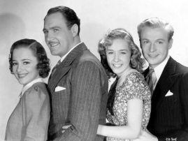 Olivia de Havilland, Ian Hunter, Bonita Granville & Peter Willes %22Call It a Day%22 (1937)