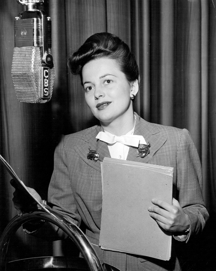 Olivia de Havilland – Radio Tribute – Once upon a screen… Olivia De Havilland