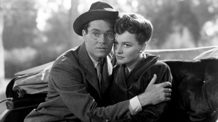 With Henry Fonda in The Male Animal 1942